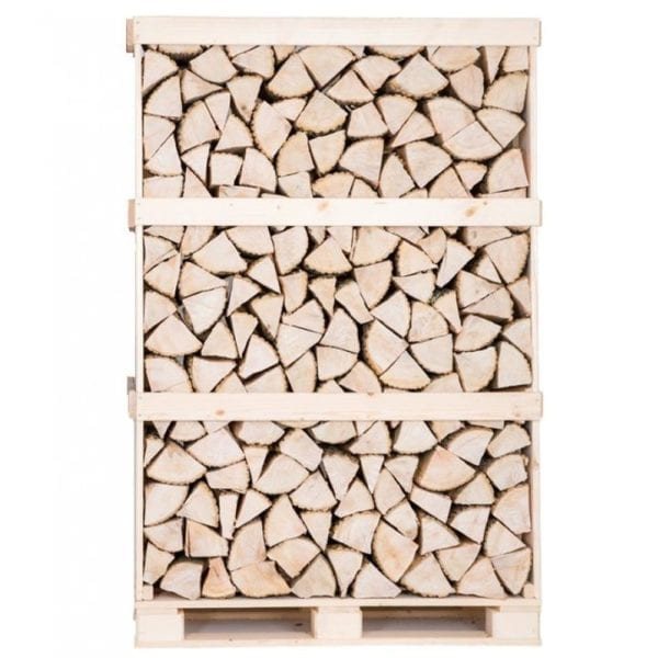 Kiln dried Ash logs full crate