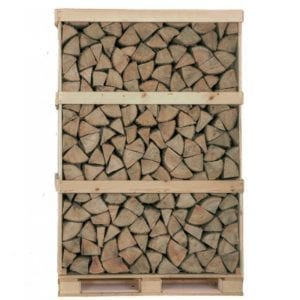 Kiln dried Oak logs full crate
