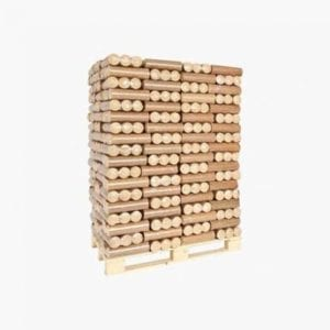 Heat logs full pallet 96
